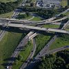 Aerial image the Eisenhower Interchange project area